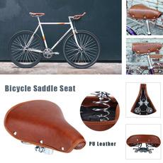 brown, Bicycle, vintagebikeseat, Sports & Outdoors