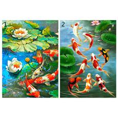 fishandlotu, wallartcraft, art, Embroidery