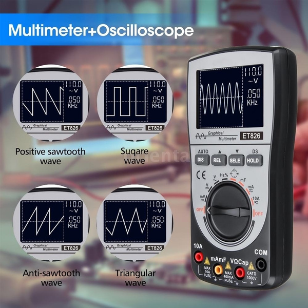 waveformtester, measuringdevice, oscilloscope, digitaloscilloscopemultimeter