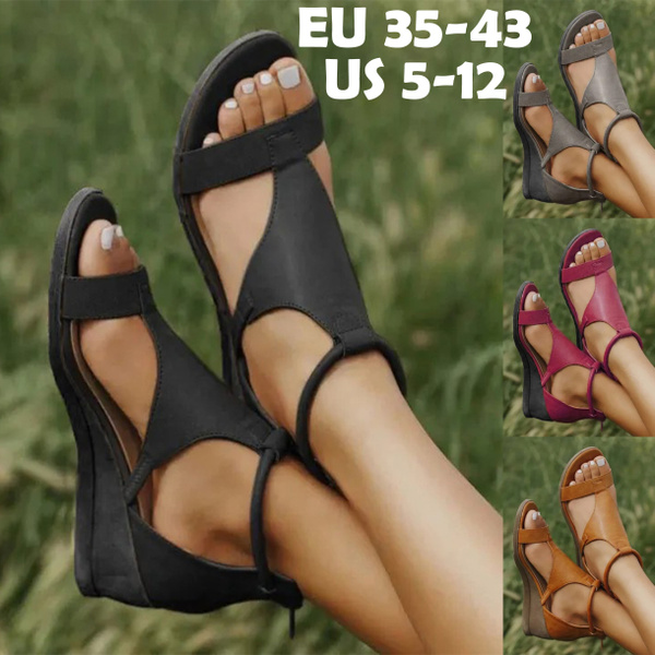 wedge, heeled, Summer, summer shoes