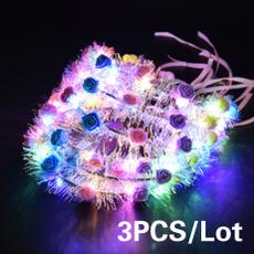 lightflowerhairband, Flowers, led, Christmas