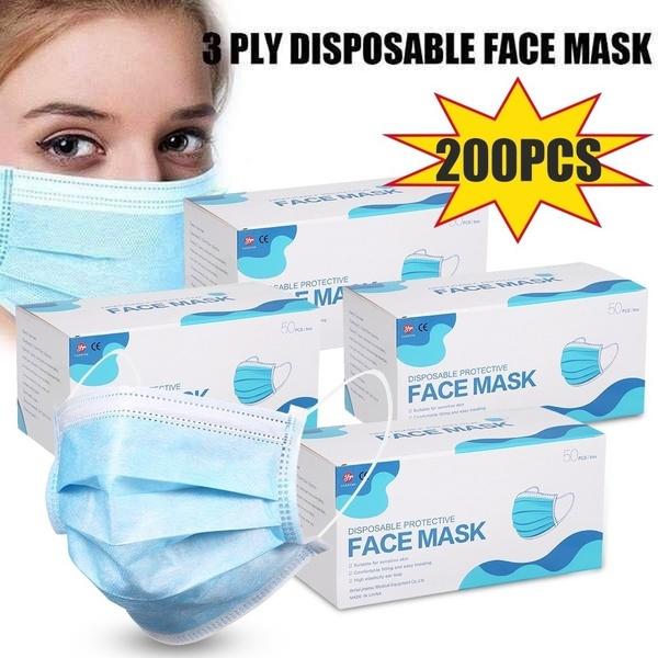 mouthmask, Elastic, disposablefacemask, safetymask
