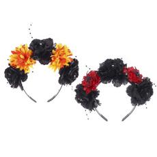 beadedheadband, Flowers, Cosplay, colorfulflower