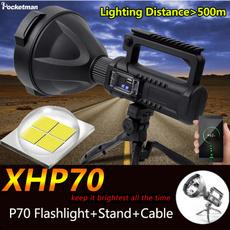 Flashlight, xhp70, fishinglight, led