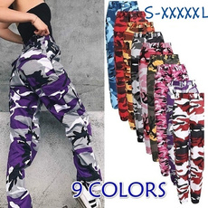 Plus Size, hosendamen, Street dance, pants