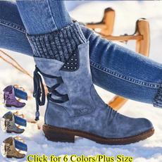 casual shoes, boots for women, Platform Shoes, Lace