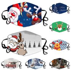 Outdoor, dustmask, Christmas, printedmask