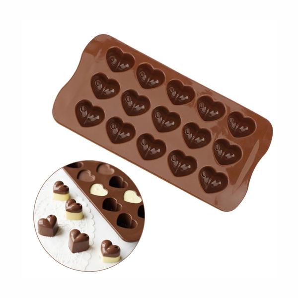 Heart, chocolatemould, Food, bakingtool
