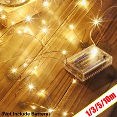 Copper, lights, Night Light, Christmas