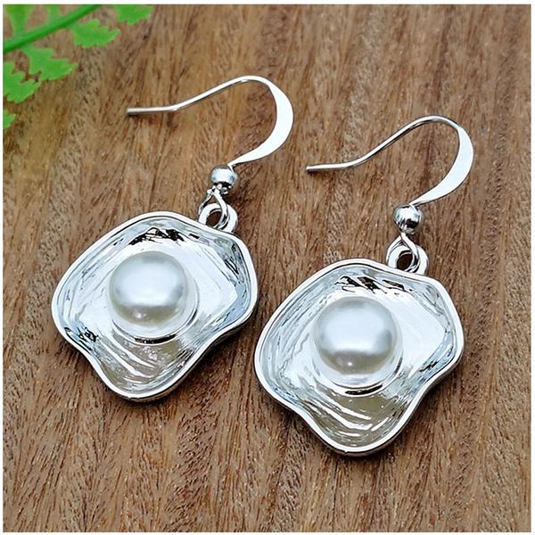 shells, 925 sterling silver, Jewelry, Earring