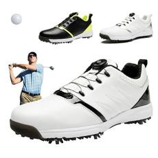 Golf, Waterproof, Men, Sport Shoes