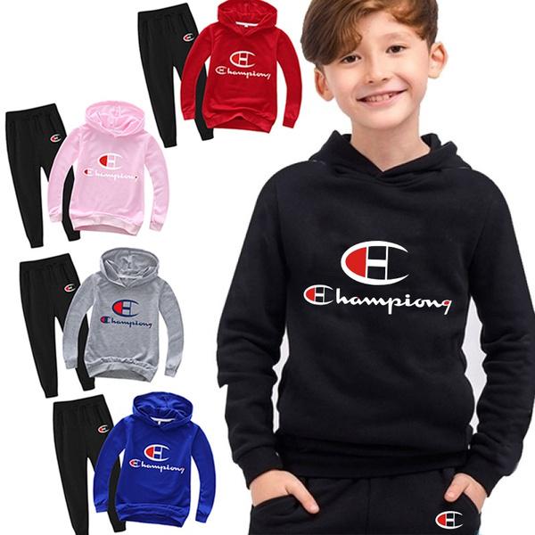 hooded, kidsclothingset, pants, kidssuit