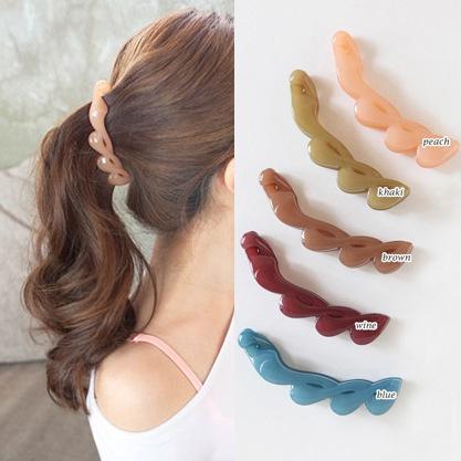 hairdecoration, hair, ponytailholder, bananahairclip