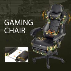militarystyle, swivel, gamingchairwithfootrest, gamingchair