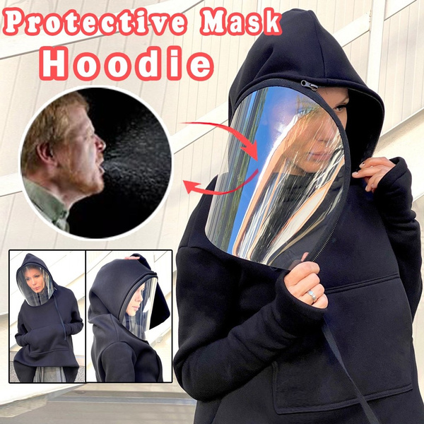 removablemasksweater, Hoodies, autumnsportswear, Fashion