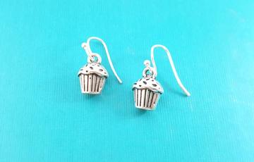 cupcakeearring, popularearring, Dangle Earring, Jewelry