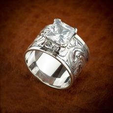 Antique, Vintage, DIAMOND, wedding ring