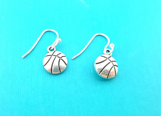 Sterling, charmearring, Fashion Accessory, Basketball