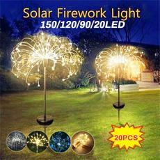 Outdoor, fireworklight, Garden, lights