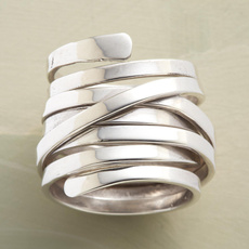 Sterling, Women Ring, 925 silver rings, silver