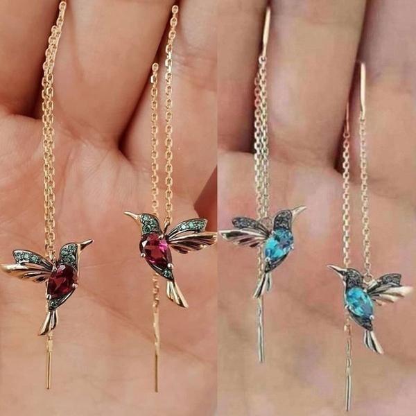 Crystal, Dangle Earring, Jewelry, girleardrop