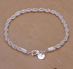 Sterling, Charm Bracelet, Fashion, Jewelry