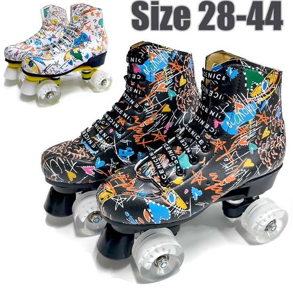 Line Skate Shoes Double Row