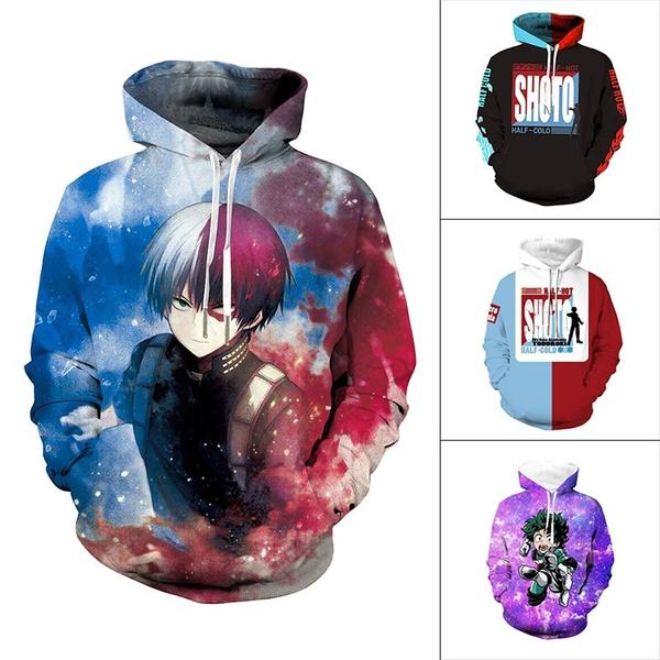 myheroacademia, coolhoodie, Long Sleeve, anime hoodie
