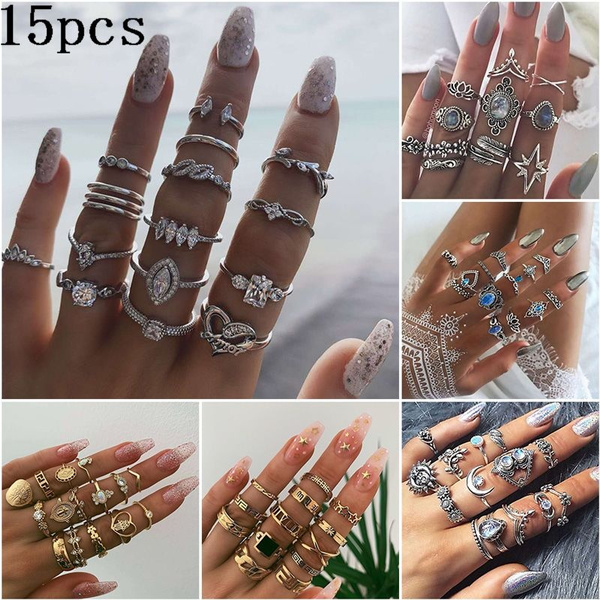 Star, Love, Jewelry, Diamond Ring
