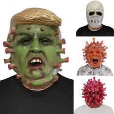 scary, Head, Cosplay, trump