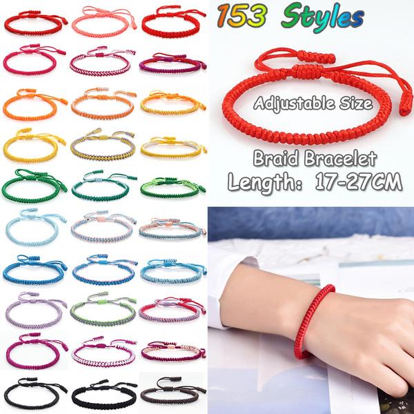 tibetanjewelry, Tassels, prayerbracelet, rope bracelet