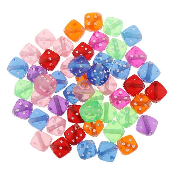beadsforjewelrymaking, cube, Dice, diycraftsuppplie