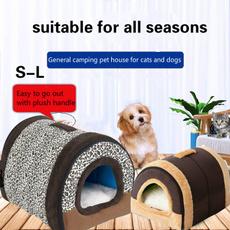 Fashion, portable, largedoghouse, Pets