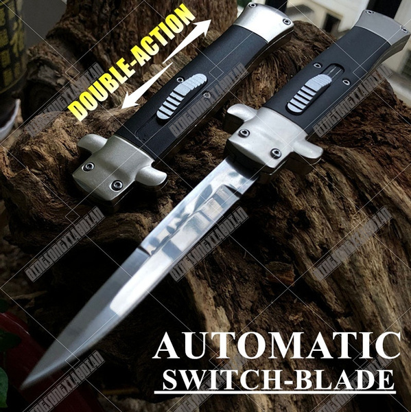 stilettoknifeautomatic, Outdoor, dagger, Spring