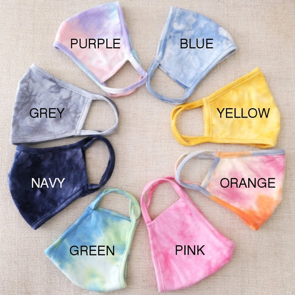 tiedyefacemask, Fashion, Colorful, unisex