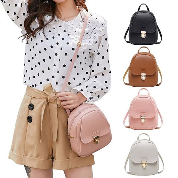 Mini, Shoulder Bags, School, Fashion
