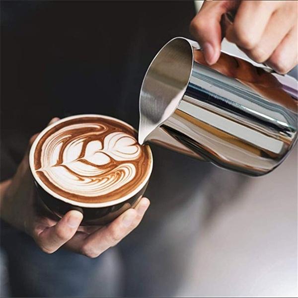 Steel, fancyacupofmilk, milkfrother, craftcoffeemaker