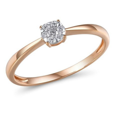 DIAMOND, Jewelry, gold, Rose