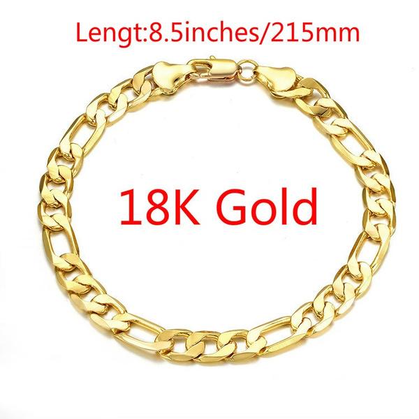 yellow gold, Fashion, Chain bracelet, gold