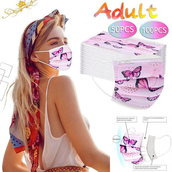 butterfly, adultmask, industrial, earloop