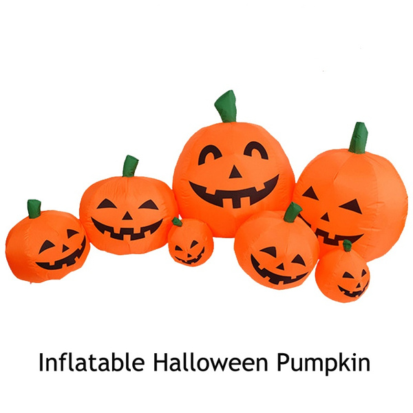 Decor, halloweenyarddecoration, inflatablepumpkin, Inflatable