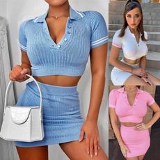 Fashion, Office, Long Sleeve, Women Set
