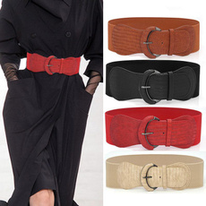 wide belt, Adjustable, Elastic, Fashion Accessory