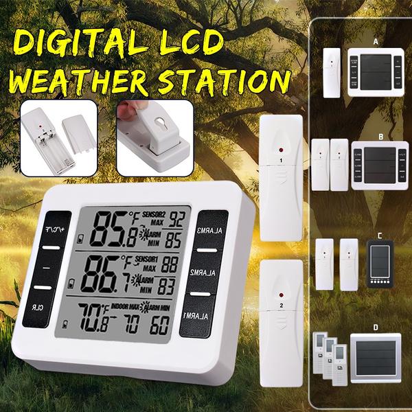 Sensors, Outdoor, precisetemperature, Refrigerator