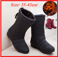ankle boots, midcalfboot, Waterproof, boots for women