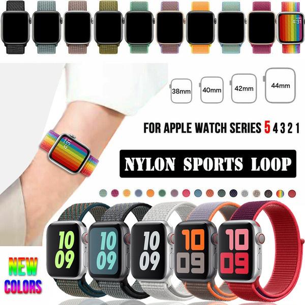 iwatchseries5band, iwatchloopband42mm, wovennylonloop, Nylon