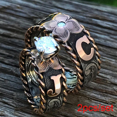 Antique, Sterling, DIAMOND, Jewelry