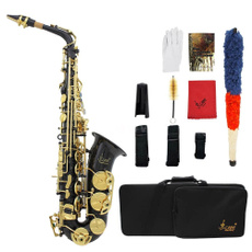 Blues, saxophone, Gifts, gold