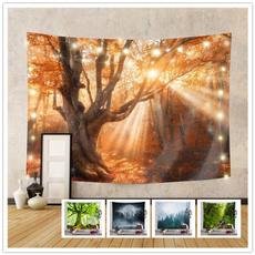 Beautiful, foresttapestry, hippie, treeforesttapestry