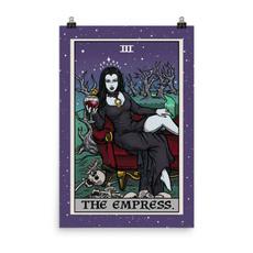 Goth, vintageposter, officedecor, coffeebardecor
